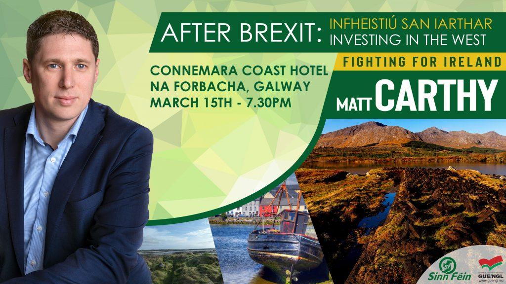 Matt Carthy Connemara Galway