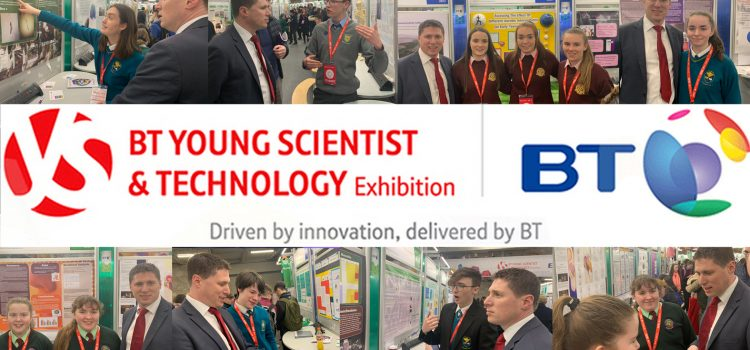 Carthy impressed by high standards at BT Young Scientists as Monaghan and Cavan students shine