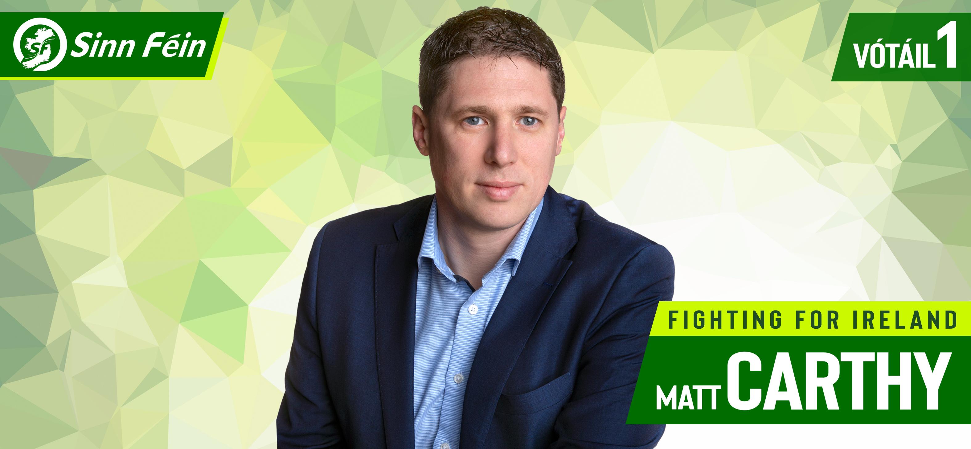 Matt Carthy MEP - Latest News